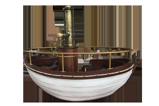 Jules Vernes Steamboat - Bateau à vapeur