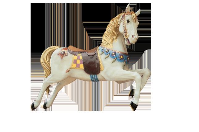 Horse N°4 - Cheval 4 blanc