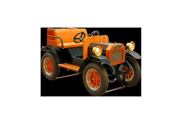 Old car 1900 - Tacot
