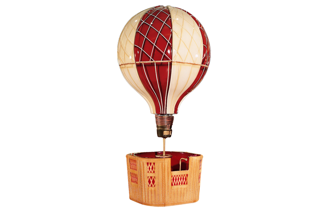 Jules Verne Air Ballon Spintop - Toupie JV montgolfière