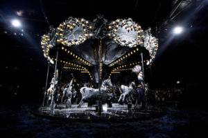 LV Black carousel