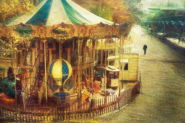carousel ride jules verne