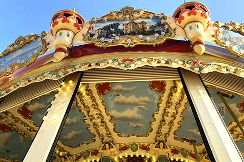 Décoration manège carrousel Concept1900